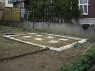 長岡市花園 H様 ユニットハウス手解体 16万円