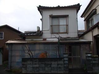新潟市東区 M様 木造二階建 34坪 90万円