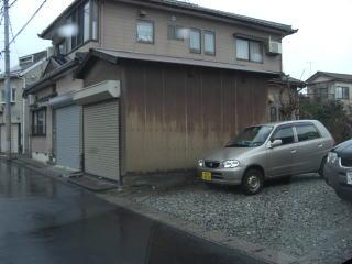 柏崎市西本町 U様 木造車庫 19万円
