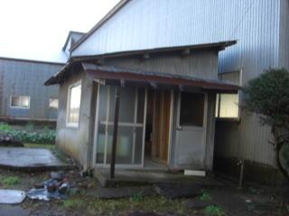 柏崎市剣野 K様 木造倉庫一式 20万円